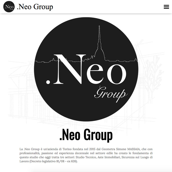 Sito web professionale .Neo Group